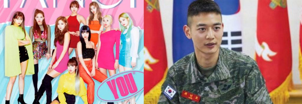 Descubre porque la canción FANCY de TWICE ayudo a Minho de SHINee a superar el servicio militar
