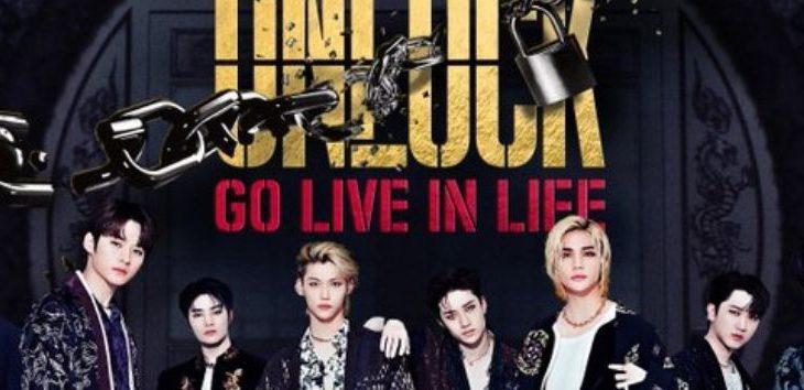 Horas para LATAM e Espanha do show Stray Kids,Unlock: GO LIVE IN LIFE
