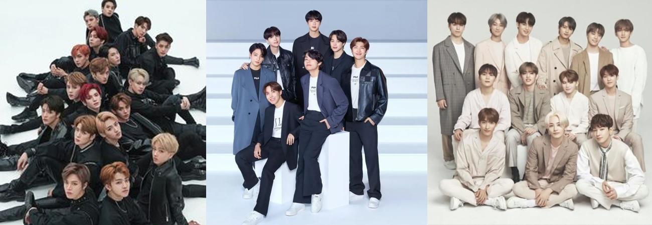 Ranking mensual: Estos son los grupos k-pop masculinos más populares en noviembre