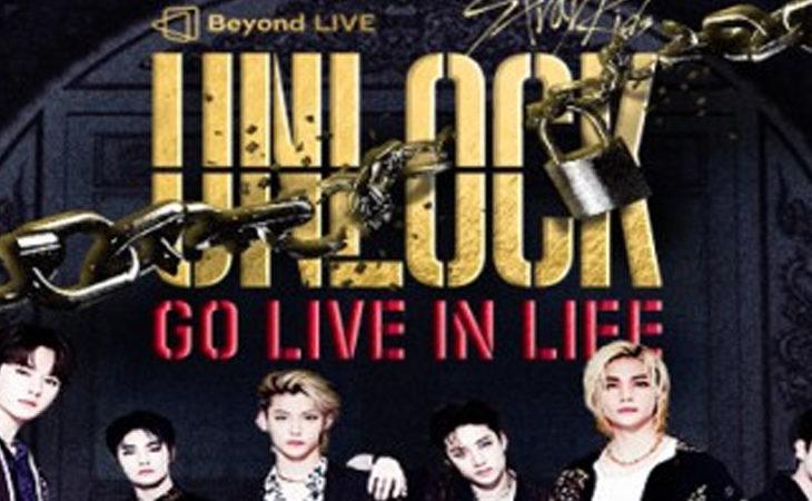 Horarios para LATAM y España para el concierto Stray Kids,Unlock: GO LIVE IN LIFE