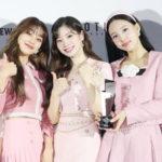 TWICE agradecimentos por ganhar Daesang na categoria Artista do Ano no 2020 Asia Artist Awards