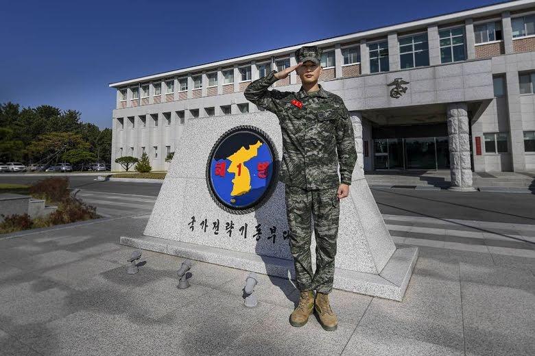 Minho de SHINee ha sido dado de baja de la Infantería de Marina