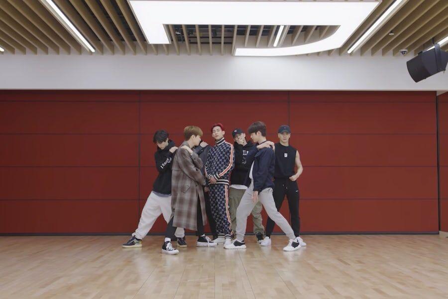 GOT7 muestra una sincronización Suave en el video de práctica de GOT7 muestra una sincronización Suave en el video de práctica de baile para