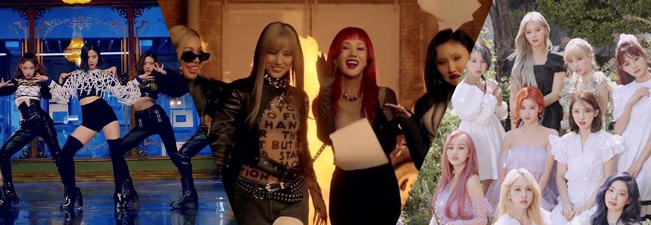 Girls Groups Kpop: los 10 videos de Melon más reproducidos del 2020