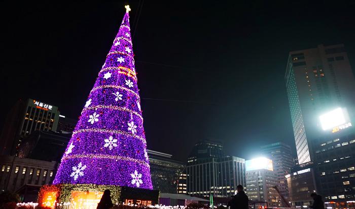 navidad na Coreia do Sul