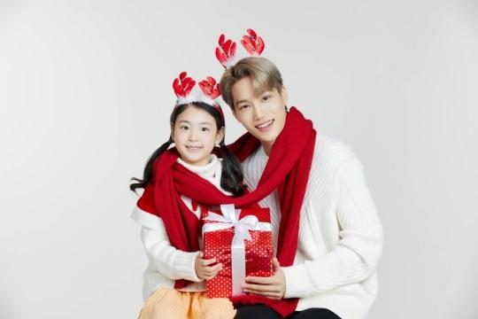 Kai de EXO se convierte en Santa para campaña de UNICEF en apoyo a los niños del mundo