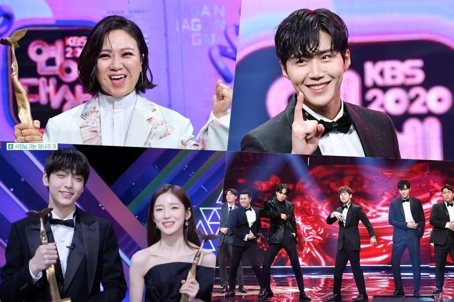 Conoce a los ganadores de los 2020 KBS Entertainment Awards