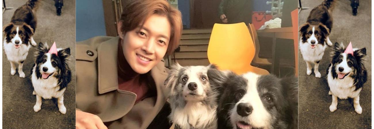 Conoce más sobre Art y Matic, las mascotas de Kim Hyun Joong