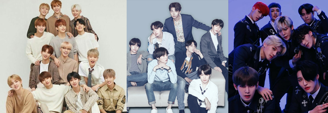TOP 10 de las boy bands de kpop más vendidos en el 2020