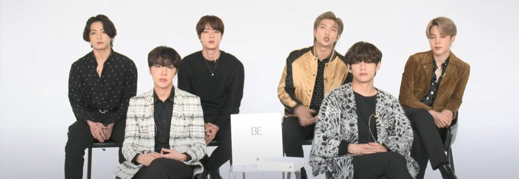 BTS comparte sus metas y resoluciones para el 2021