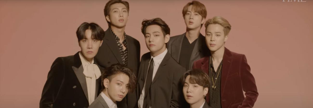 BTS es nombrado 'Artista del año' por la revista Time