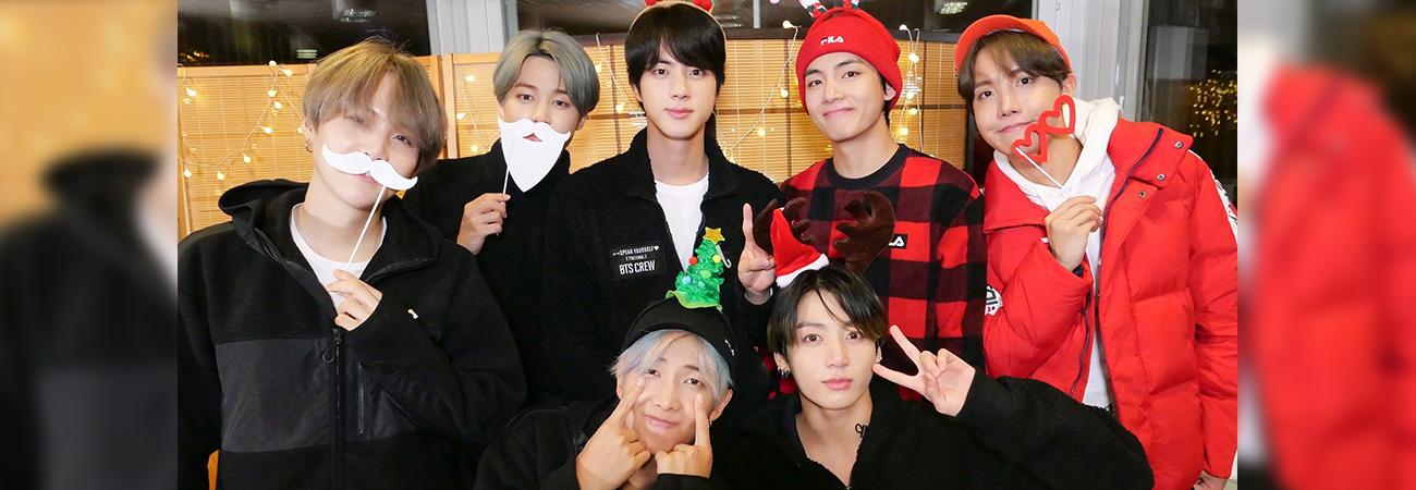 BTS envía un dulce saludo a ARMY por Navidad y Año Nuevo en diferentes idiomas