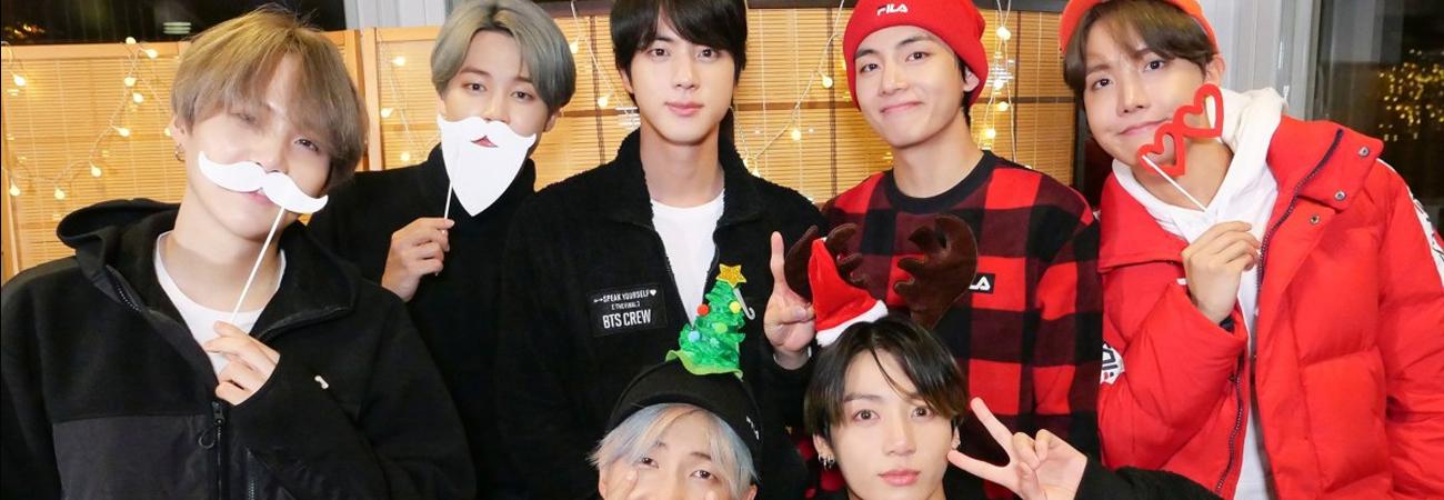 ARMY celebra la navidad al estilo de BTS