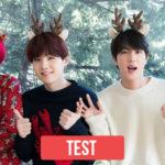 TEST: ¿Con que integrante de BTS celebraras navidad?