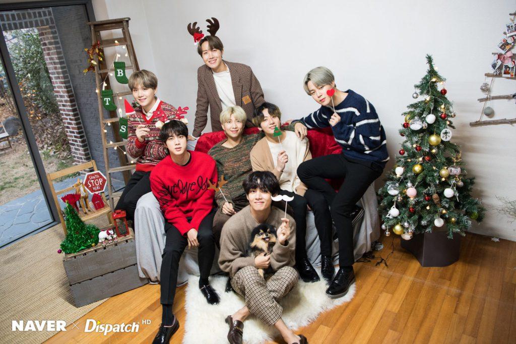 BTS y TWICE elegidos como grupos con los que la gente quiere celebrar la Navidad