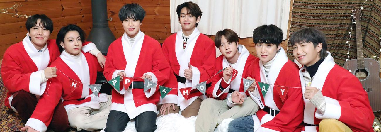 BTS obsequia a ARMY una hermosa sesión de Navidad para este 2020