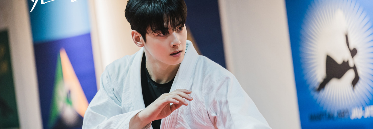 Cha Eun Woo impresiona con sus formidables habilidades de Jiu-Jitsu en