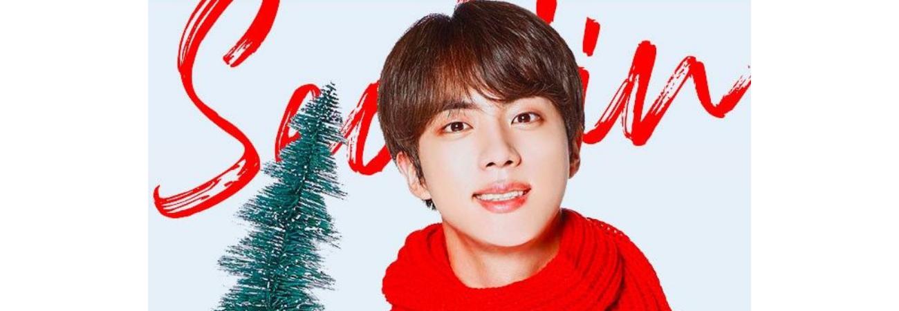 ¿No sabes qué regalar en navidad? ¡Jin de BTS tiene estas opciones para ti!