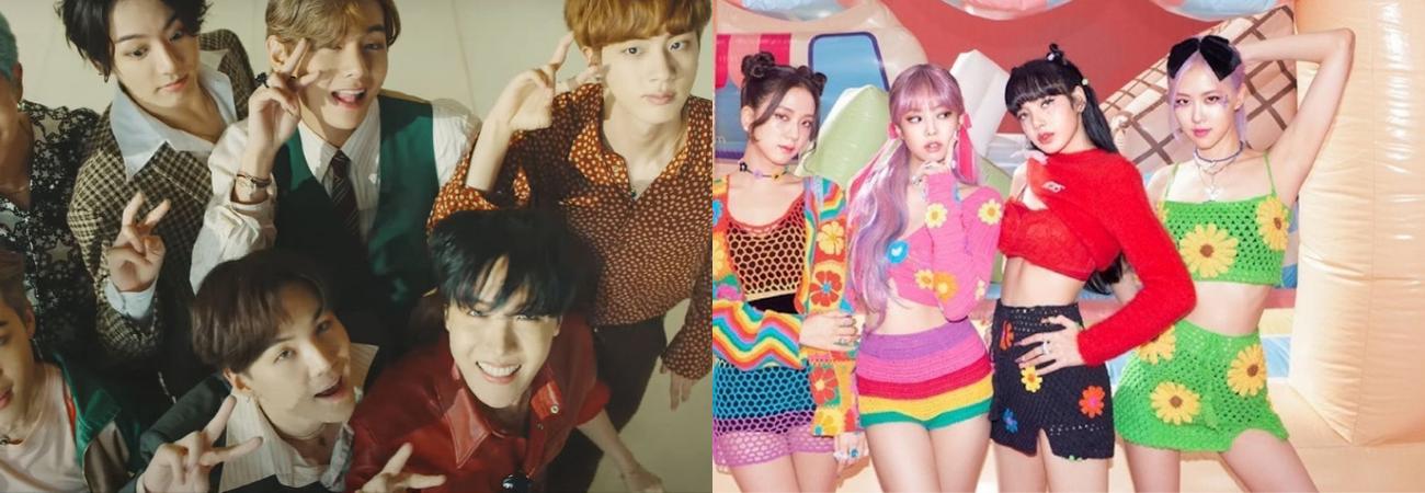 BTS y BLACKPINK entran en la lista de las '50 mejores canciones de 2020' de Rolling Stone