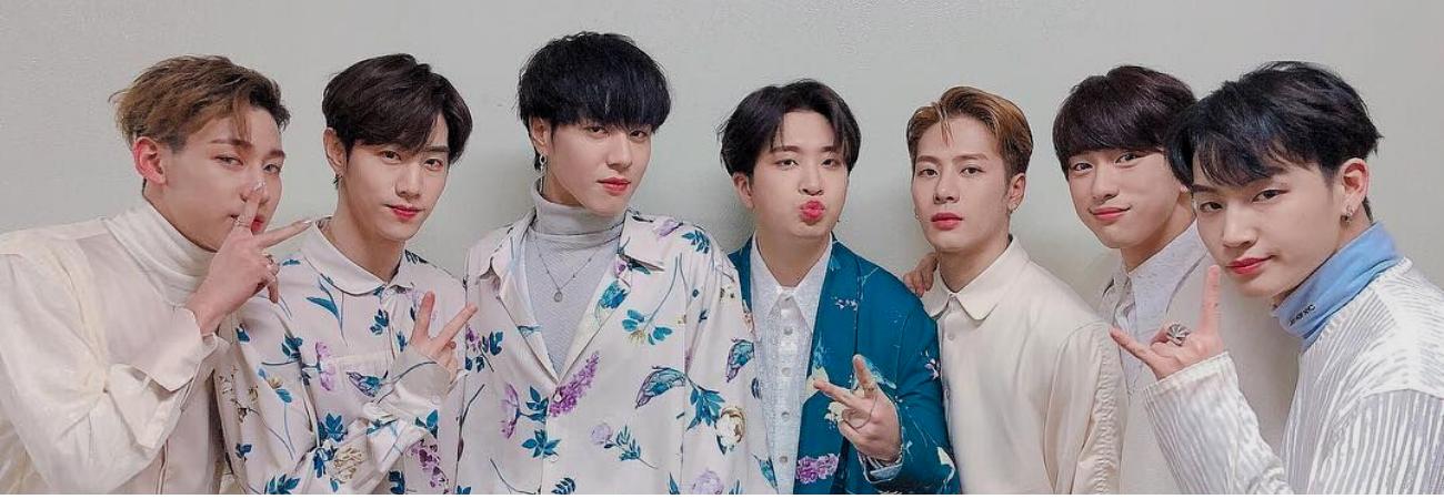 GOT7 se unirá a la aplicación de mensajería de JYPNATION 'BUBBLE'