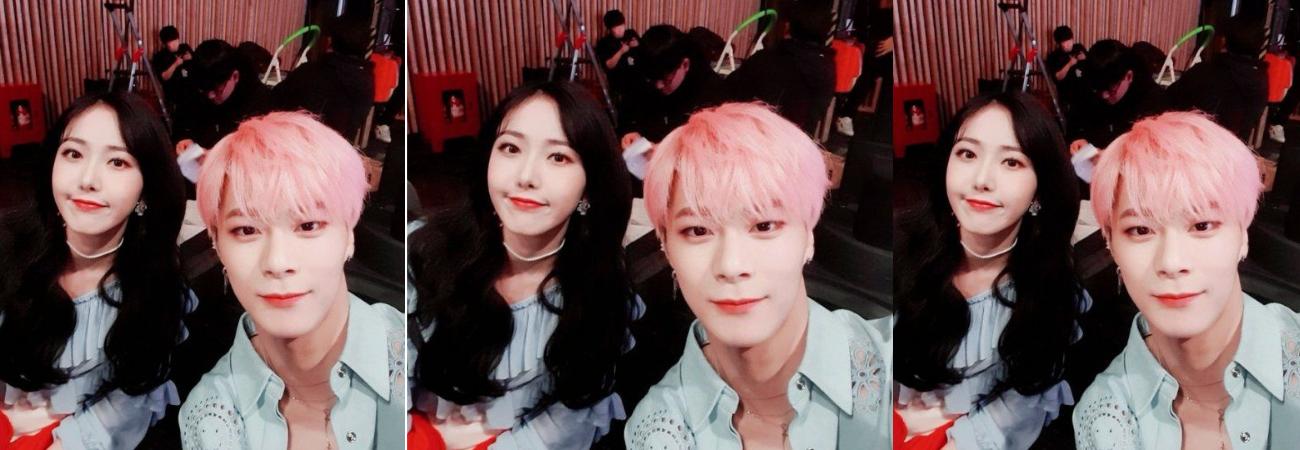 Netizens aman la amistad entre Moonbin de ASTRO y SinB de GFRIEND