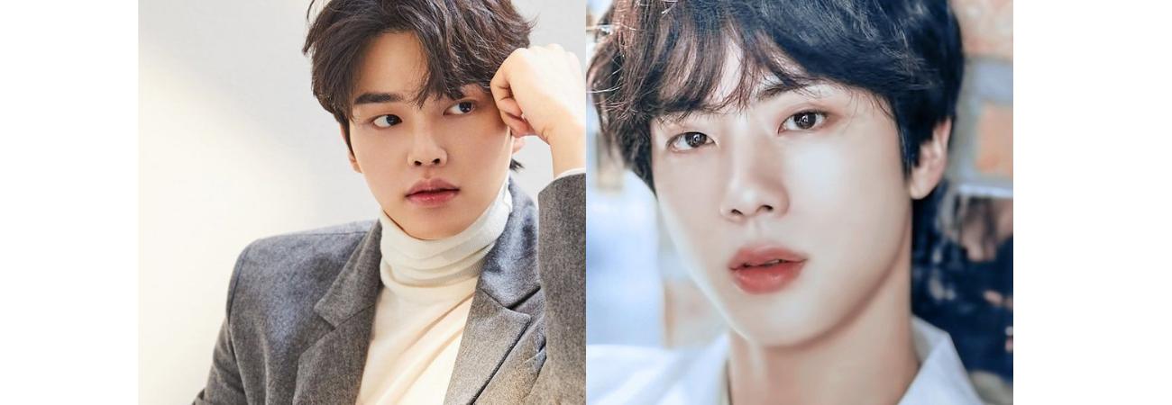 Song Kang aponta Jin do BTS como o ídolo com o rosto mais bonito