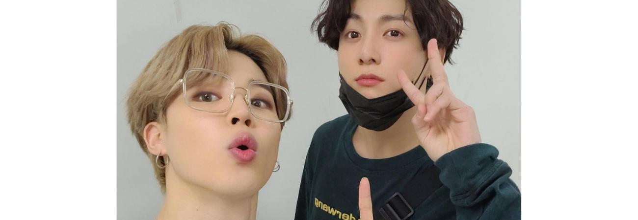 La emoción de Jungkook y Jimin de BTS hace que sufran un aparatoso accidente