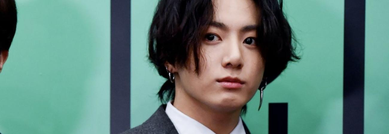 Jungkook de BTS se roba la atención una vez más con su cabello largo en los MMA 2020