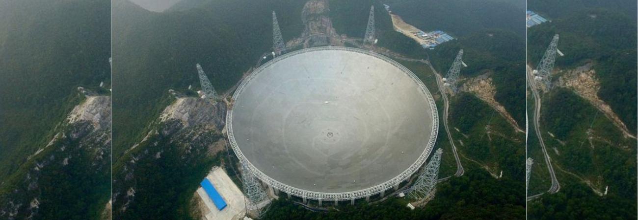 'El ojo en el cielo', China inaugurará el radiotelescopio más grande del mundo