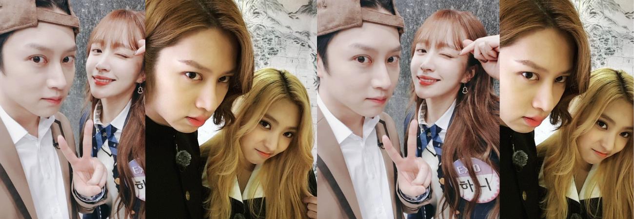 Heechul de Super Junior revela que una vez se acostó con Hani de EXID y Bora de SISTAR
