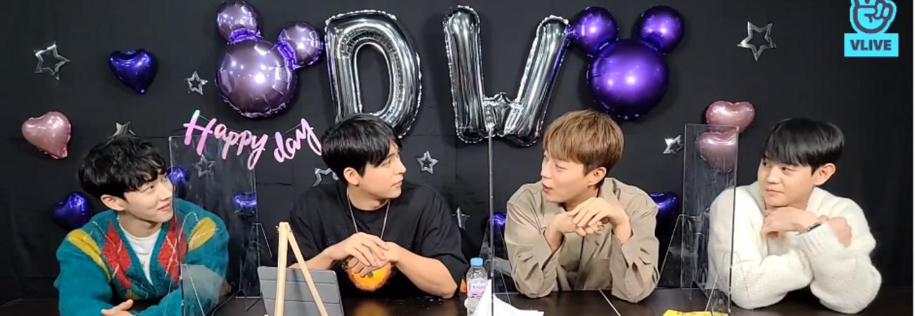 Dongwoon se reúne con Highlight después de ser dado de baja de su servicio militar