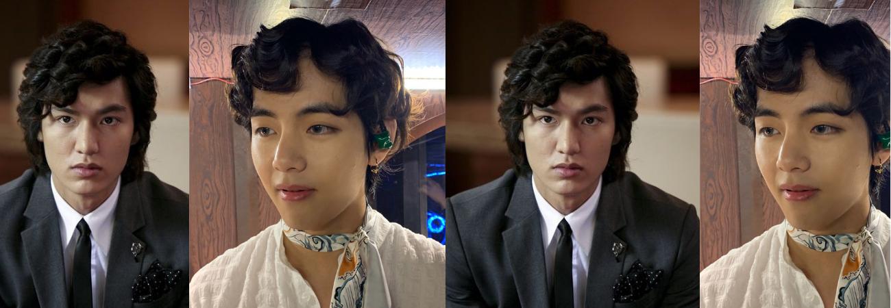 Hilo necesario: V de BTS como el actor Lee Min Ho