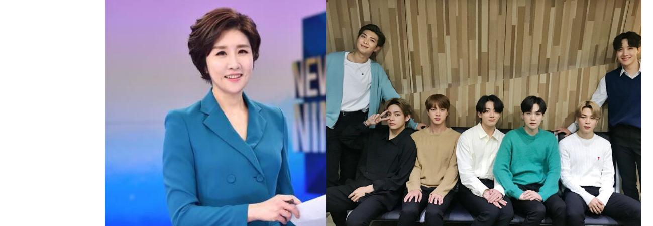 Presentadora de KBS revela lo memorable que fue para ella entrevistar a BTS