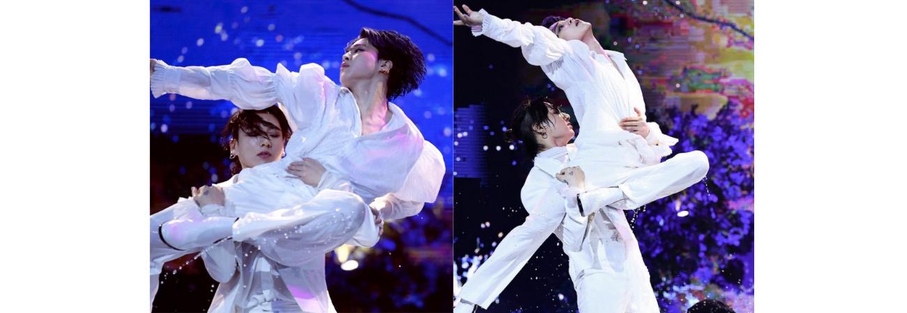 Jungkook y Jimin de BTS hacen una presentación legendaria en los Melon Music Awards 2020