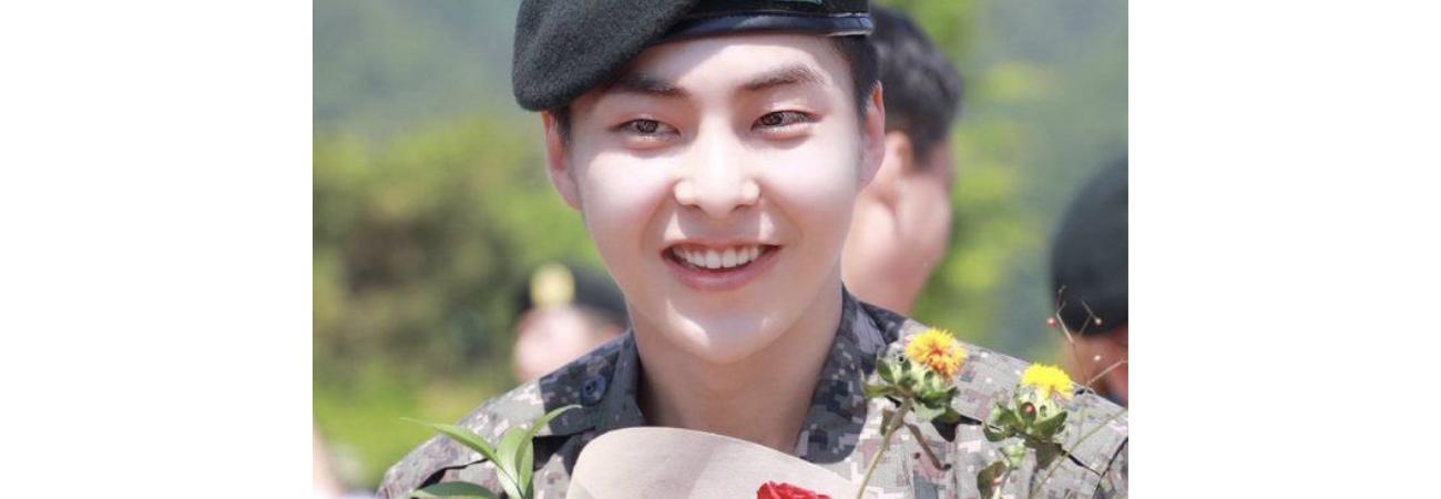 Xiumin de EXO es dado de baja de su servicio militar, ¡EXO-L le da la bienvenida!