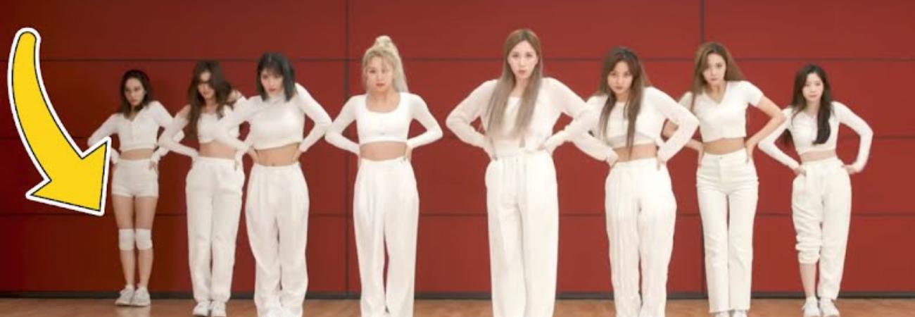 Seis momentos en los que TWICE se olvidó de decirle el código de vestimenta a Nayeon