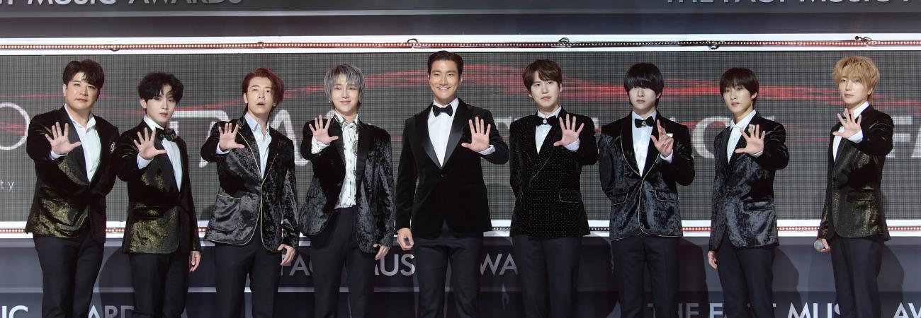 Super Junior gana el 'Premio a la Popularidad' en los TMA 2020 ¡Este fue su discurso de agradecimiento!