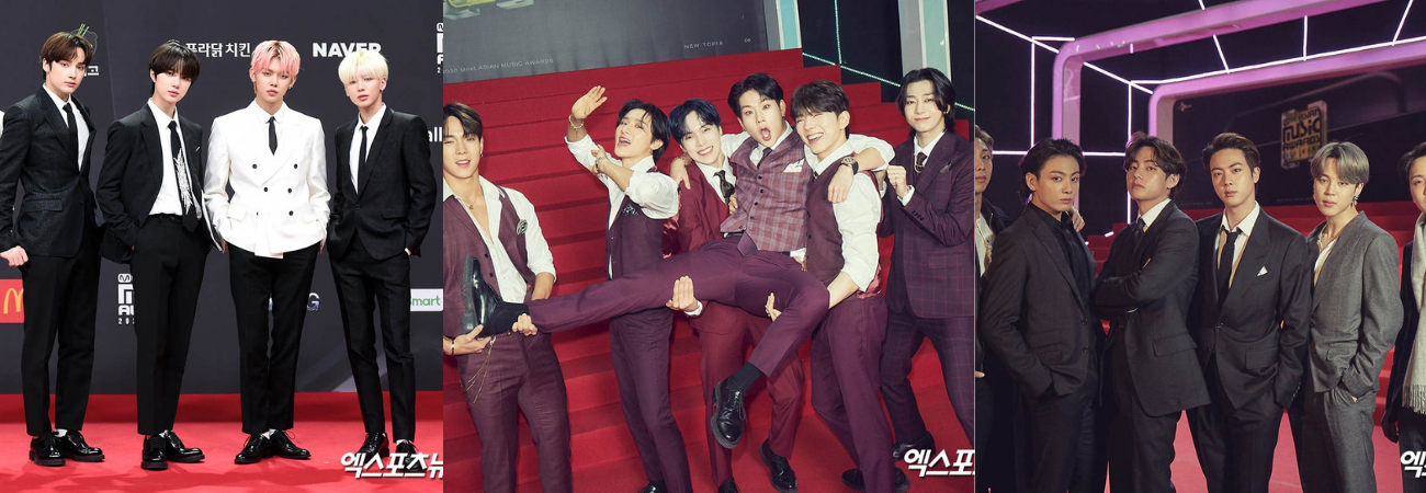 Lo mejor de la alfombra roja de los Mnet Asian Music Awards 2020