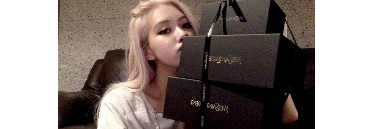 Rosé de BLACKPINK recibe una cantidad abrumadora de regalos de Yves Saint Laurent