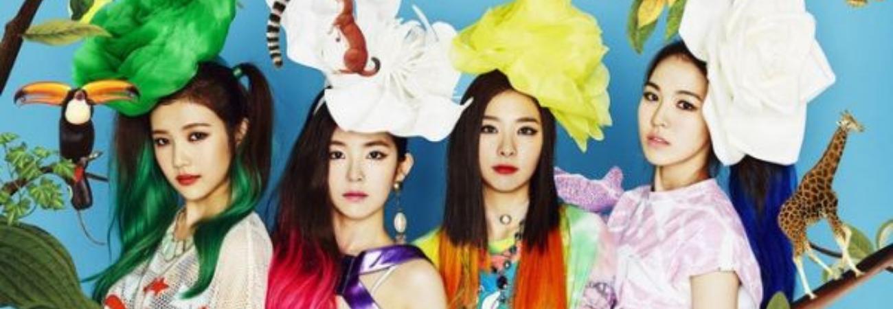 'Happiness', la canción debut de Red Velvet supera los 100 Millones de vistas en YouTube