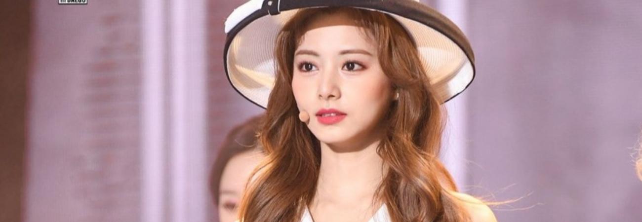 Tzuyu de TWICE conquista con su belleza clásica durante el '2020 SBS Gayo Daejun'