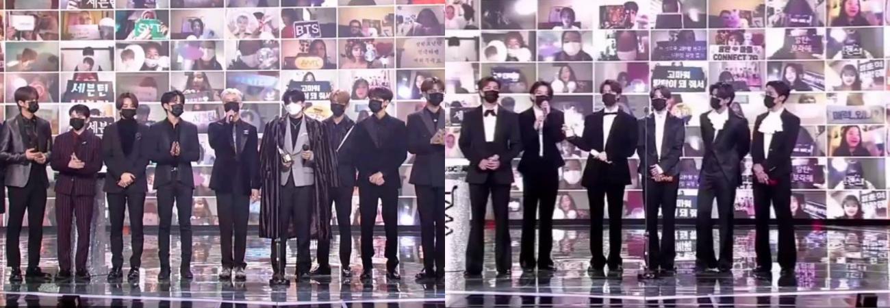 BTS y SEVENTEEN ganan en la categoría 'Worldwide Icon' de los TMA 2020