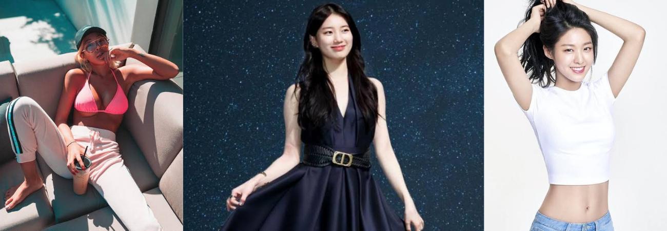 Suzy, Jessi y Seolhyun entre las 'Estrellas coreanas con mejor transformación corporal' según All Year Live