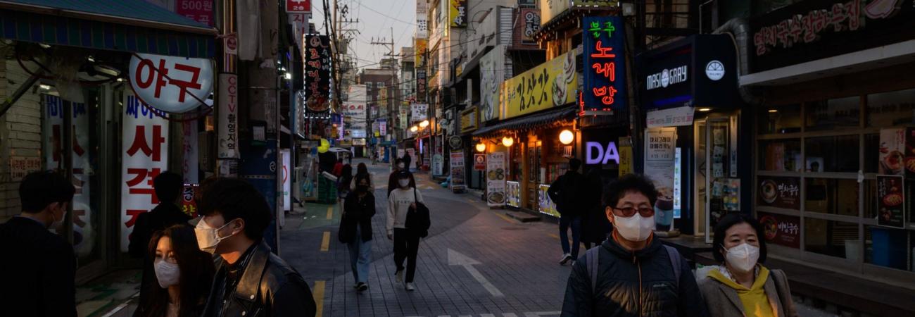 La pandemia frena las celebraciones de Año Nuevo en Corea del Sur