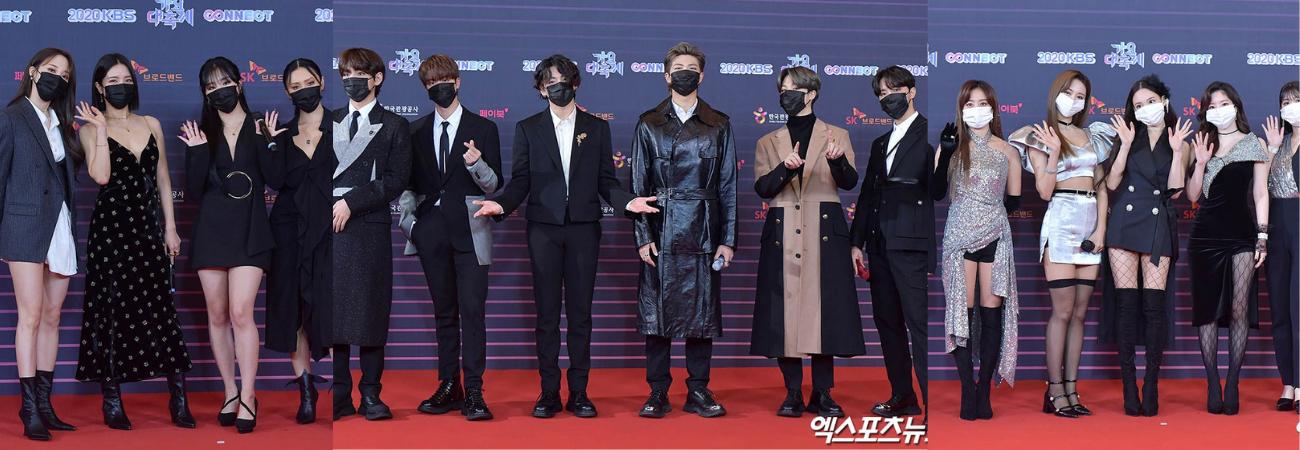 Lo mejor de la alfombra roja del '2020 KBS Gayo Daechukje'