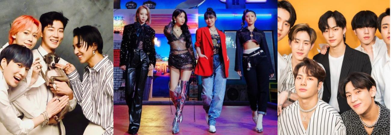 Grupos de K-pop que podem se separar em 2021