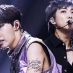 Estos son los significados de los tatuajes de RM y J-Hope de BTS en la presentación de los MMA 2020
