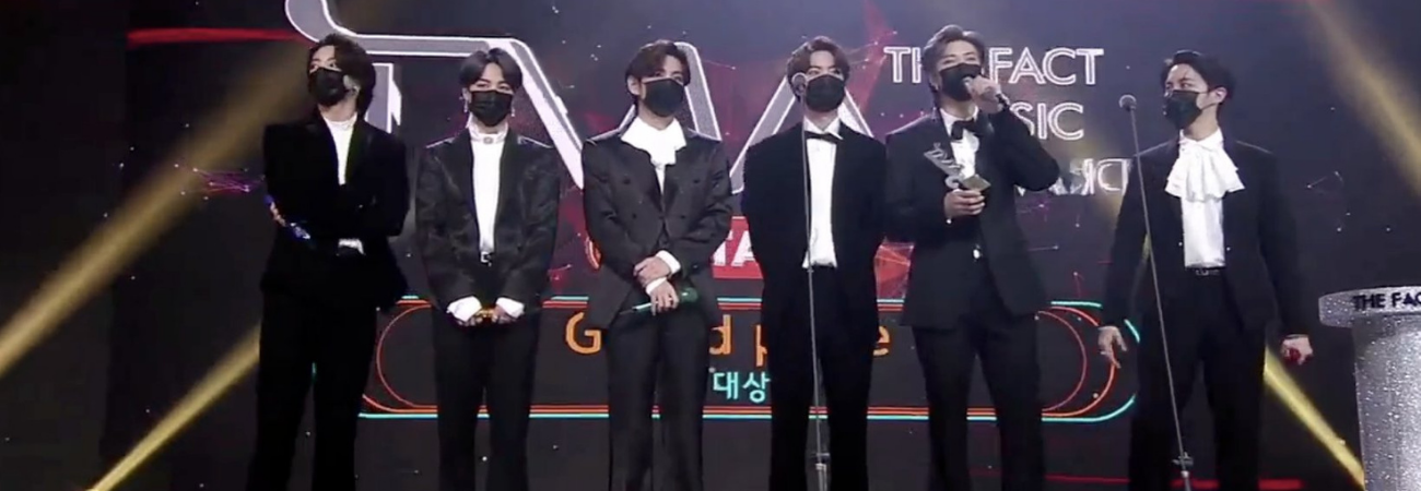BTS gana el Daesang 'Grand Prize' en los TMA 2020 ¡Este fue su discurso de agradecimiento!