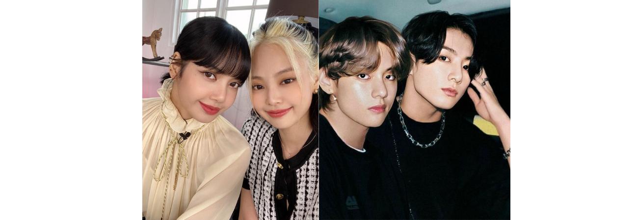'JenLisa' de BLACKPINK y 'TaeKook' de BTS nominados como 'Mejor Friendship' en Bousnid