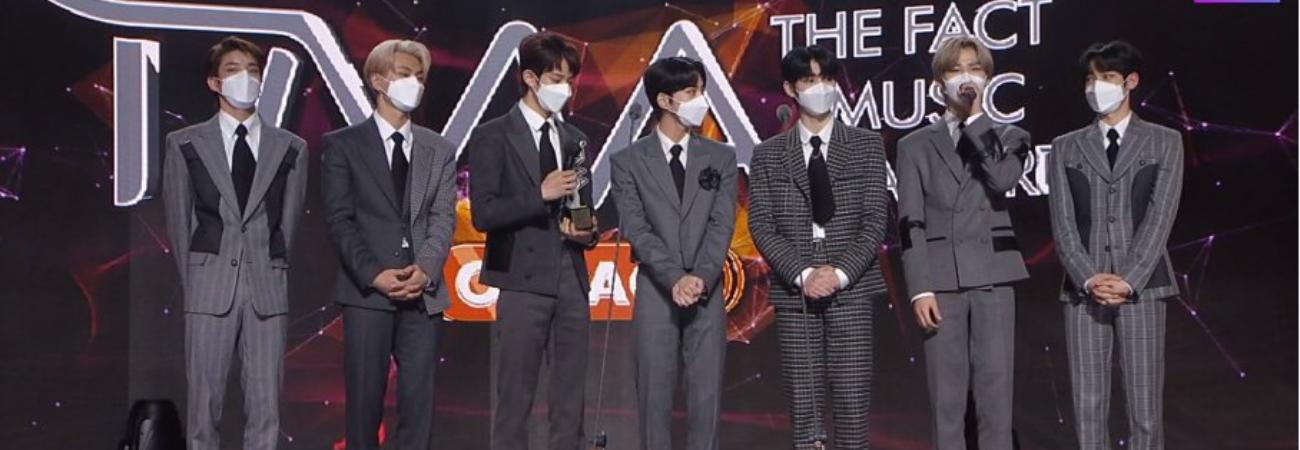 ENHYPEN ganha seu primeiro prêmio no The Fact Music Awards 2020